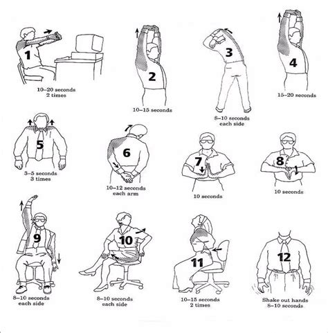 shoulder pain from sitting at desk exercises for desk employees healtheo360