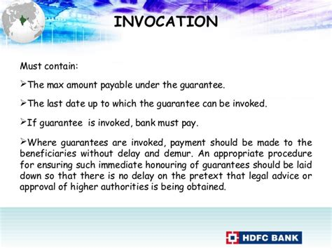 Bank Guarantee Invocation Letter Bank Guarantee Revised Fort