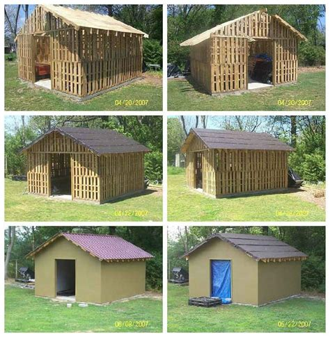 shed   reclaimed pallets recyclart