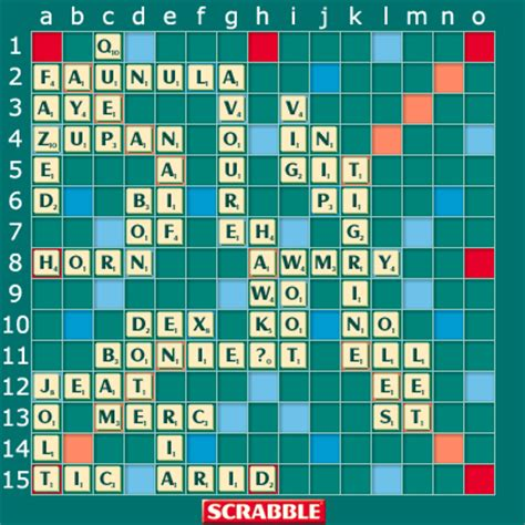 is a scrabble word word puzzles archive