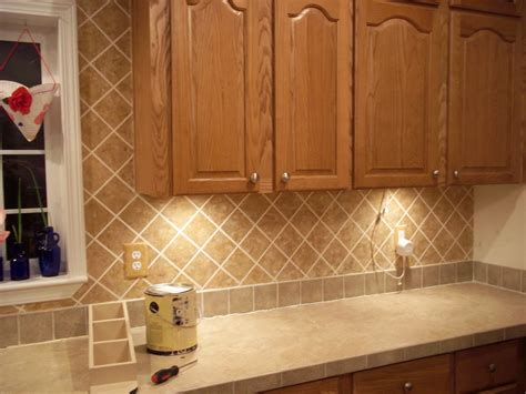 Faux Kitchen Backsplash All In All We Re Just Another Faux Brick In The Wall Faux Tile Backsplash The Frazzled Slacker
