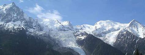 montagnes et failles chamonix mont blanc mont blanc