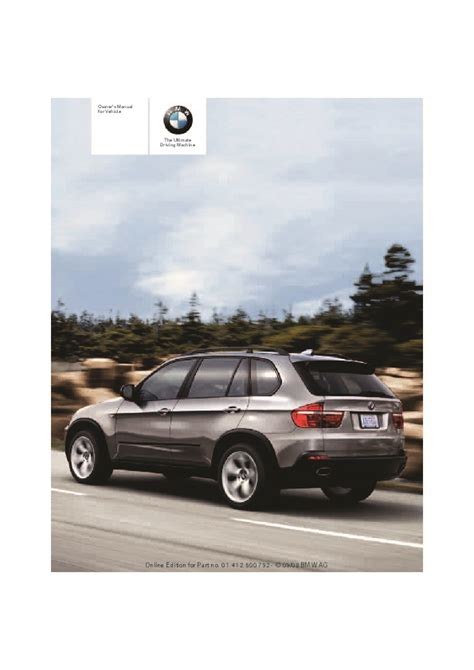 old car owners manuals 2009 bmw x5 electronic toll collection 2009 bmw x5 x6 xdrive30i 48i 35d e70 e71 owners manual