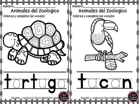 imagenes de animales del zoologico para preescolar actividades animales de zoologico 1 imagenes educativas
