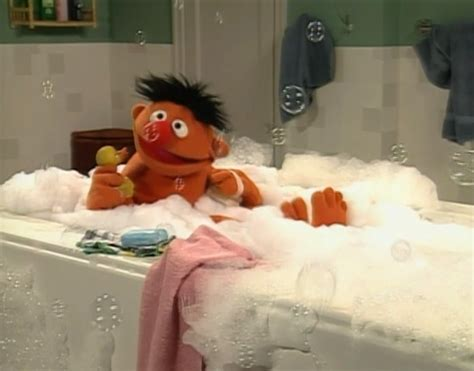 ernie bathtub rubber duckie song muppet wiki