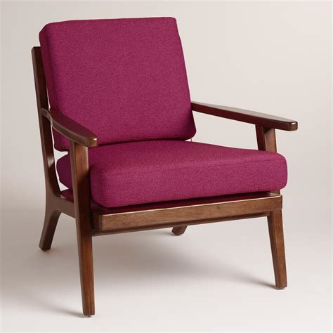 world market armchair raspberry xander armchair world market