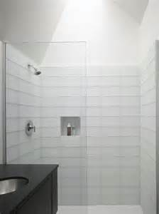 White Bathroom Tile Ideas Pictures by 37 White Rectangular Bathroom Tiles Ideas And Pictures