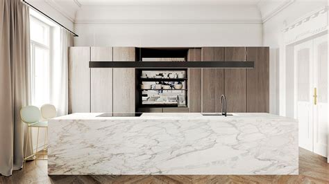 cucina marble 36 marvellous marble kitchens that spell luxury