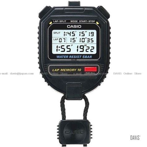 Harga Stopwatch Casio by Casio Hs 30w 1v Handheld Digital 10 End 2 26 2014 1 45 Pm