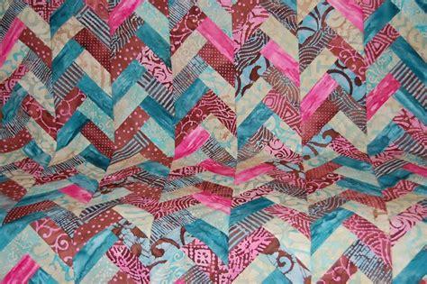 Braid Quilt Free Pattern by Free Tutorial Batik Braid Quilt By Jen Eskridge