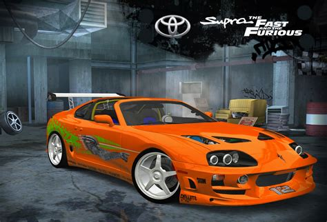 speed  wanted  toyota supra fastfurious