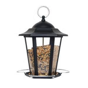 Metal Bird Feeders Supa Premium Metal Lantern Bird Seed Feeder Black