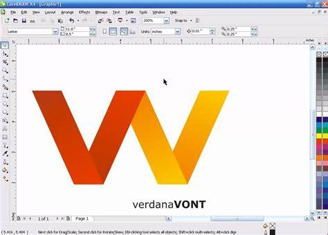 tutorial coreldraw membuat logo nike tutorial membuat logo dengan efek lipatan menggunakan