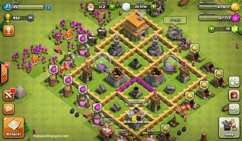Naikkan Ram Laptop trik mempercepat naikkan league levels clash of clans