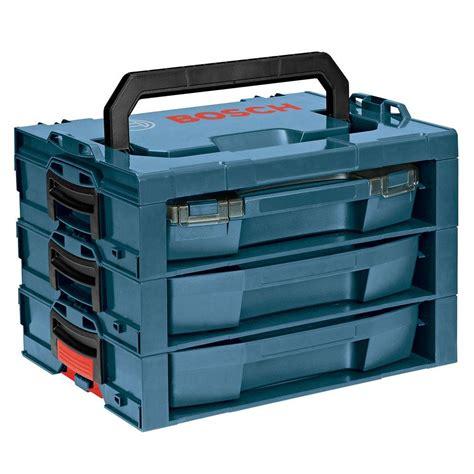 bosch complete l rack stackable storage system l rack