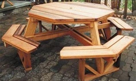 build  octagon picnic table  projectsatobn