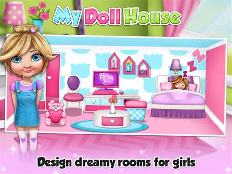 house design games for girl app shopper my doll house decoration game s design and create your virtual dream home for baby