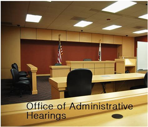 Office Of Administrative Hearings Kristen May Proceed To A Contested Hearing