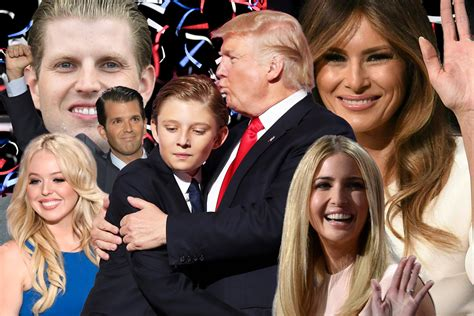 trump family photos donald trump s wife ex wives and children a guide to