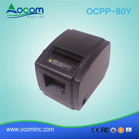 80mm receipt template for receipt printer 80mm pos receipt thermal printer with auto cutter