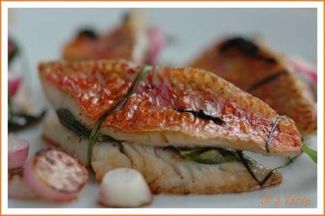 cuisiner rouget recette n 176 052 filets de rougets sauce soja balades