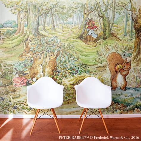 beatrix potter wall mural room wall murals theme wallpaper