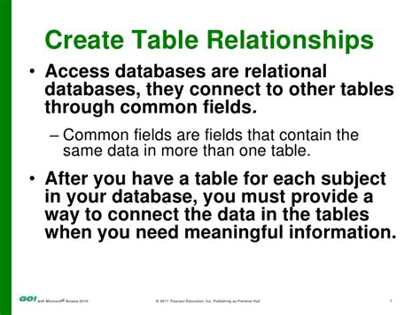 databases tables calculators by subject ms access ch 2 ppt