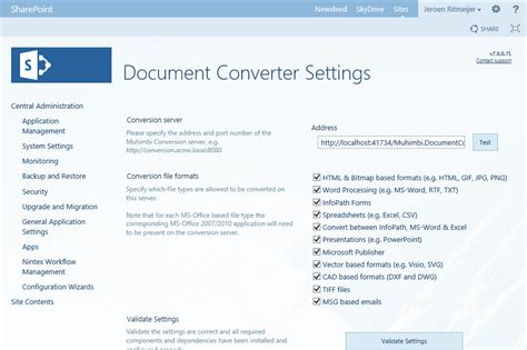 convert pdf to word aspx muhimbi pdf converter for sharepoint