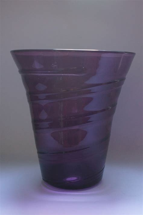 Whitefriars Vase by Whitefriars Ribbon Trail Vase Collectors Weekly