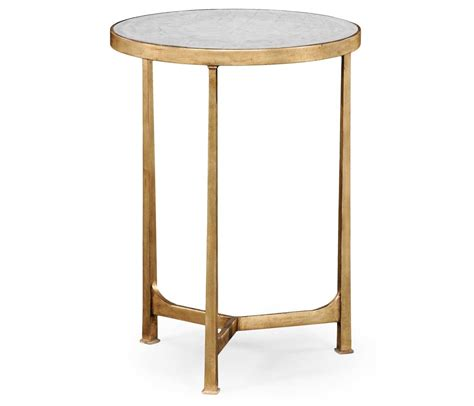 small glass side table gold swanky interiors glass round side table gold swanky interiors