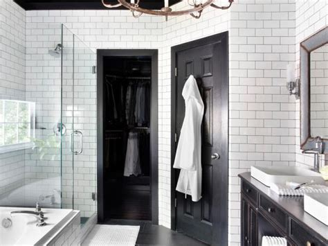 bold black interior doors inspiration  tips hgtvs