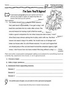 Graphic organizers for opinion writing scholastic com