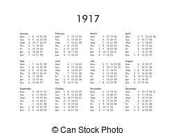 Calendario De 1917 1917 Images And Stock Photos 368 1917 Fotografia Libre De