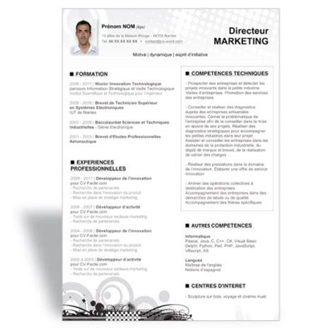 Télécharger Modèle Cv Word by Resume Format Mod 232 Le Cv T 233 L 233 Charger