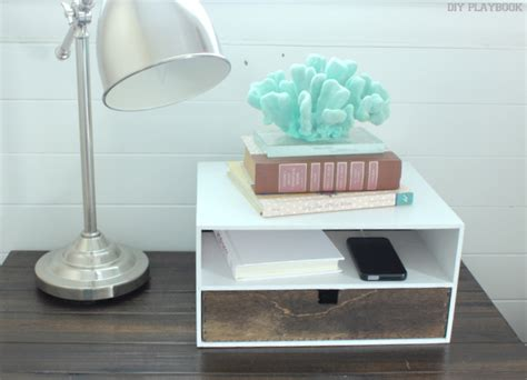diy wood charging station remodelaholic get rid of cord clutter with these 25 diy