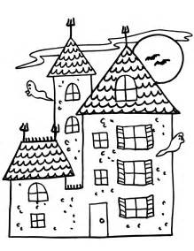 haunted houses coloring sheets haunted house coloring page haunted house with 2 ghosts