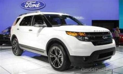A Brand New Endeavor by Ford Endeavour Car Pictures Images Gaddidekho