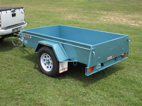 be my trailer no 12 single axle box trailer 2 1m x 1 2m unbraked