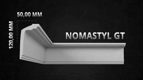 stuckleisten kleben nmc stuckleisten profilleiste nomastyl plus gt 120 x 50