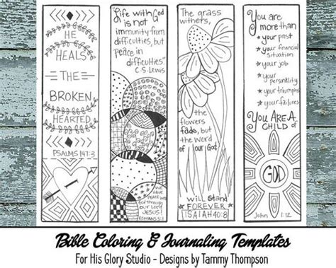 free printable encouraging bookmarks journaling music songs and bible verses on pinterest