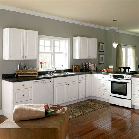 White Kitchen Cabinets Home Depot | home depot kitchen design sized in small spaces