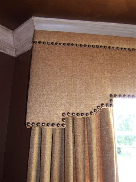 Design Ideas For Cornice Valances 17 Best Images About Window Treatments On Pinterest Window Treatments Drapery Designs And Box