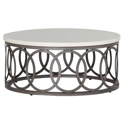 Oval Outdoor Coffee Table Ella Oval Interlock Ivory Outdoor Coffee Table Kathy Kuo Home