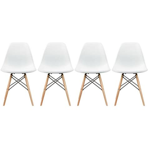 Dining Room Chairs Eiffel 2xhome Eames Style Side Chair Wood Legs Eiffel