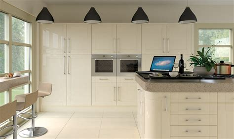 pronto cream gloss ludlow kitchen ba components