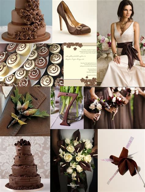 227 best images about wedding brown shades on fall wedding and chocolate