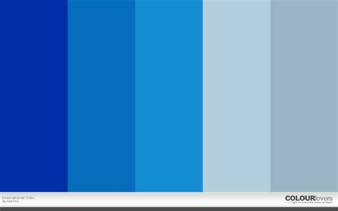 try colors 20 klein blue color palettes to try this month may 2016
