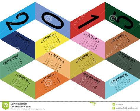 calendar ribbon design calendar stock vector image 42808976