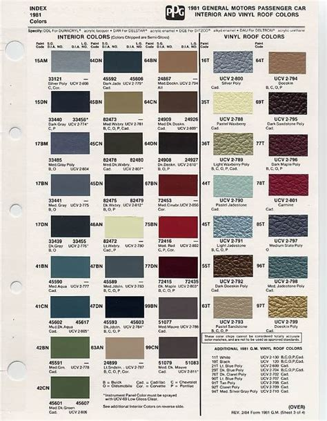image result for vintage car color palettes color