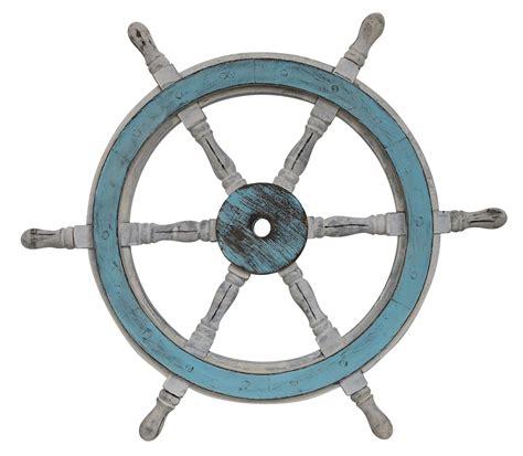 volante della nave volante della nave legno ottone ruota barca 61 centimetri